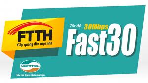 Goi cuoc Viettel FTTH Fast 30 Mbps