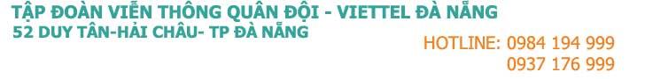 Internet Cap quang Viettel Da Nang