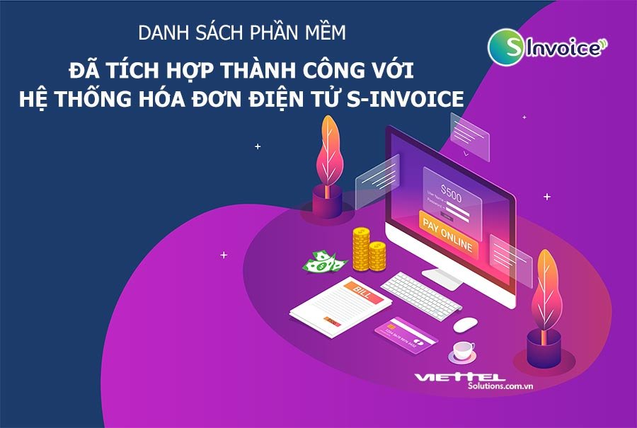 Danh Sach Phan Mem Tich Hop Hoa Don Dien Tu Viettel